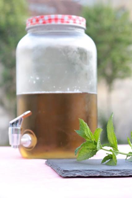 boisson fraîche à la menthe