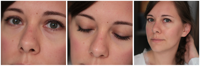 avant / après mascara & liner elissance