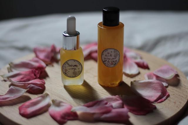 DIY sérum visage & huile corporelle avec Formule beauté