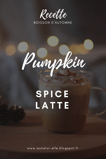 Recette du pumpkin spice latte starbucks