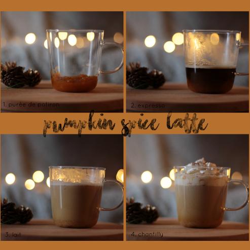 Recette du pumpkin spice latte maison pas à pas