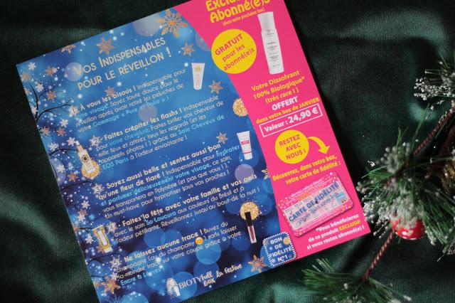 Biotyfull box : la festive : avis