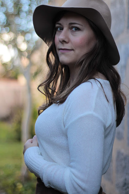 comment porter un chapeau en automne