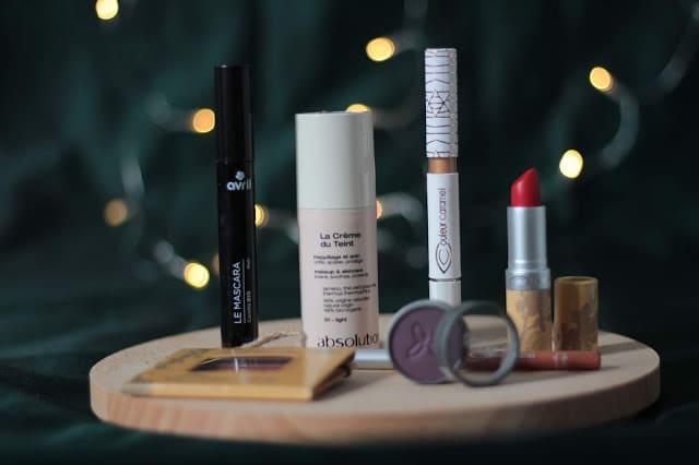 maquillage BIO pour les fêtes
