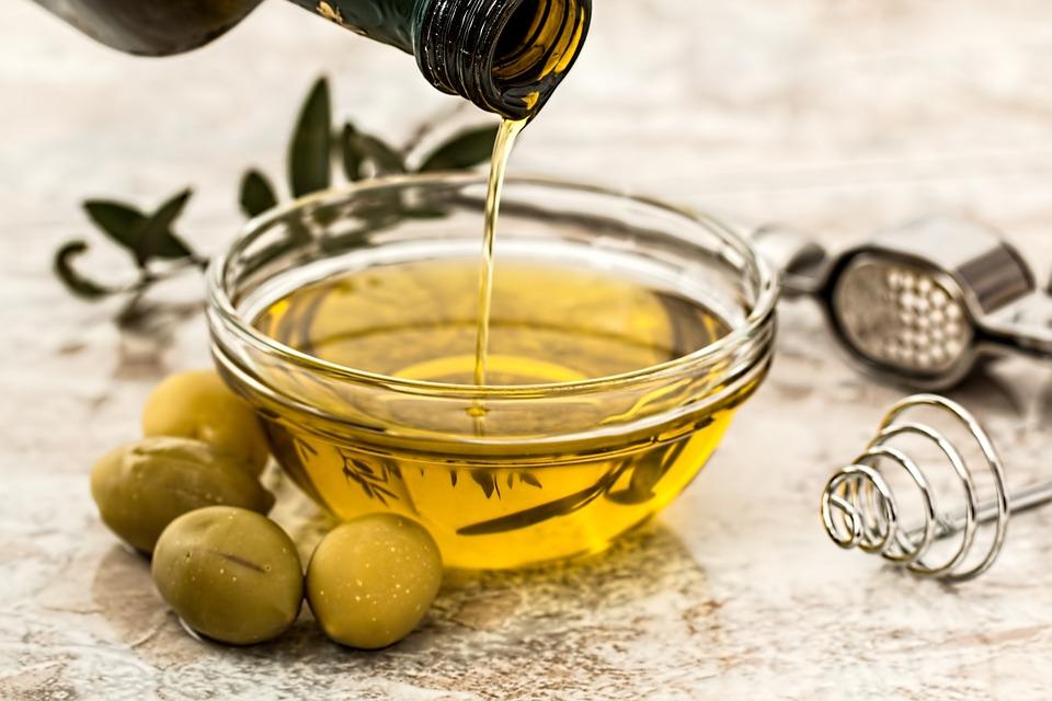huile d'olive pour gommage maison