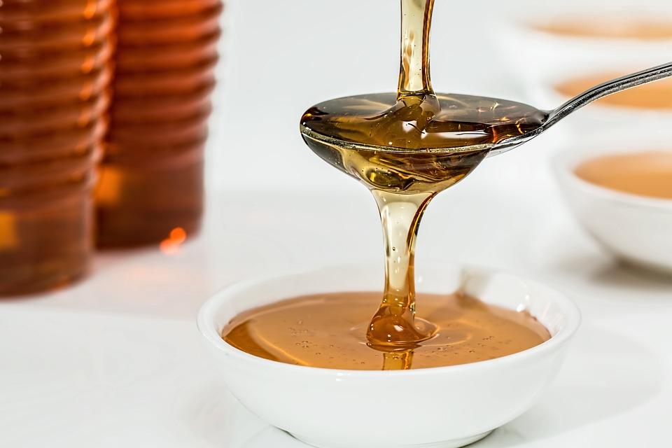 miel pour gommage naturel maison