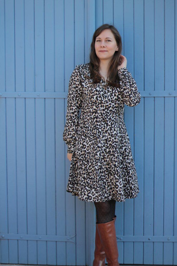 robe-imprimé-animalier-camaieu-aunatur-elle