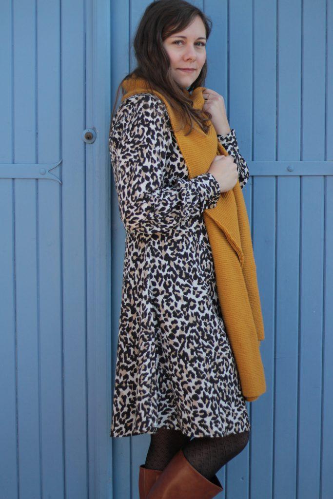 robe-leopard-camaieu-aunatur-elle