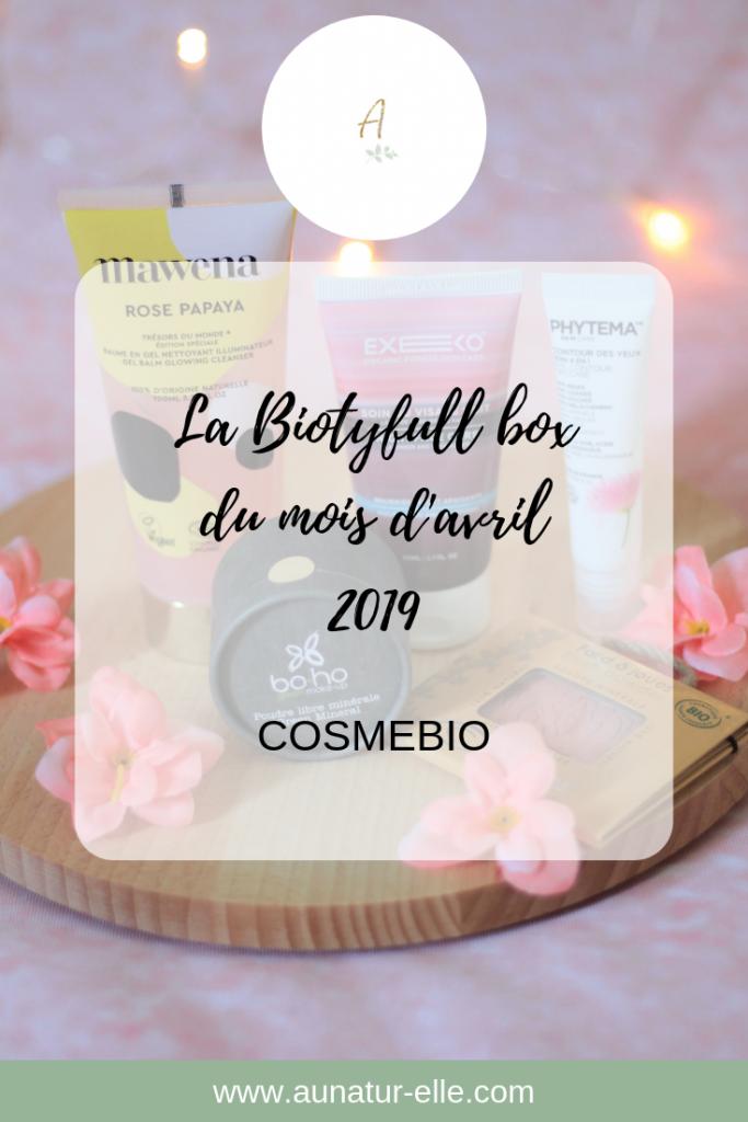 La Biotyfull box du mois d'avril 2019