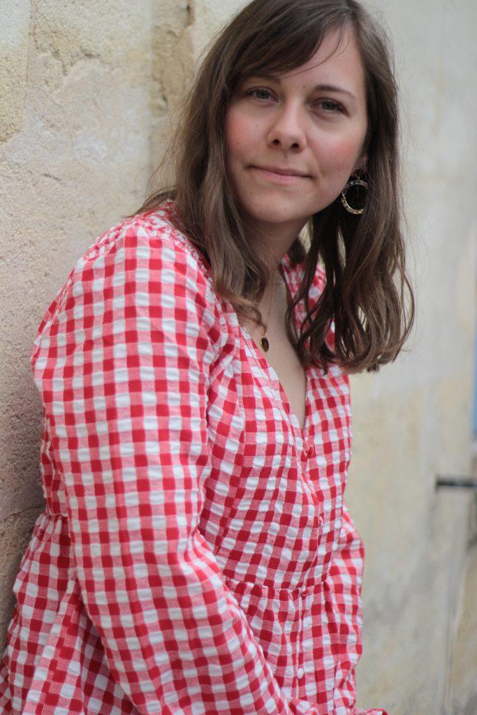 blouse-vichy-rouge-camaieu-aunatur-elle