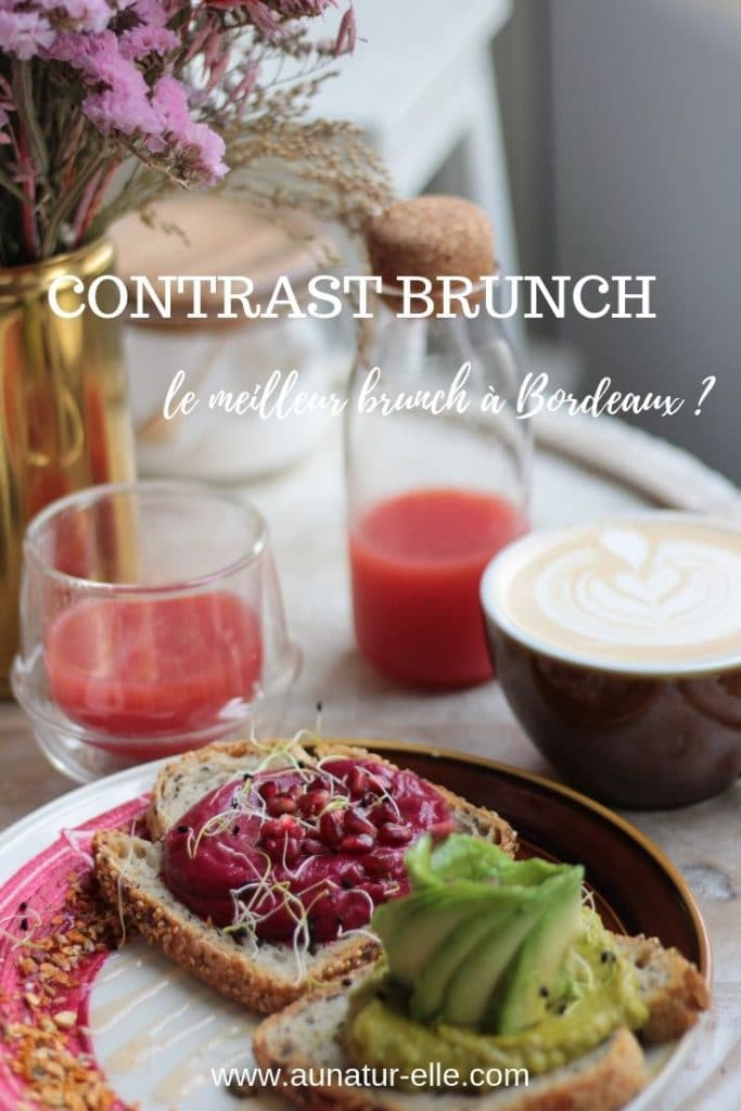 Contrast brunch, le meilleur brunch à Bordeaux _