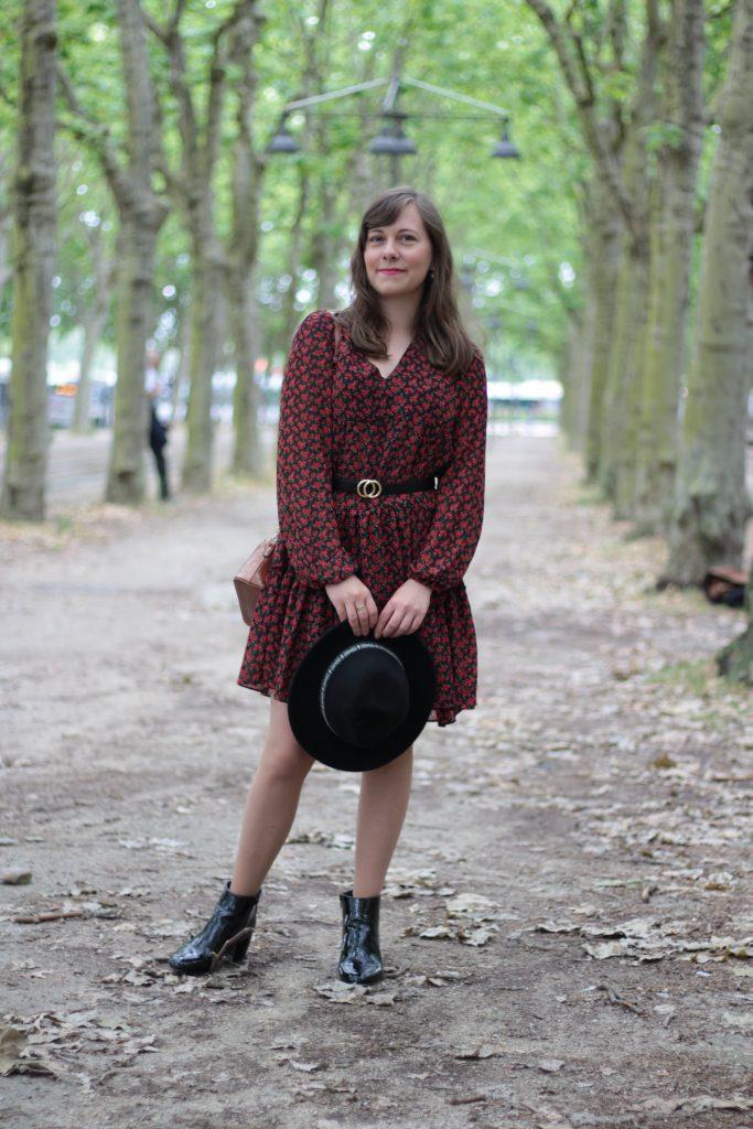 Comment porter la robe fleurie - Aunatur-elle, blogueuse mode de Bordeaux