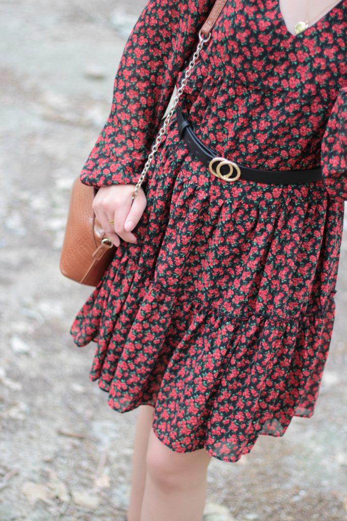 Comment porter la robe fleurie au printemps - Aunatur-elle, blogueuse mode de Bordeaux