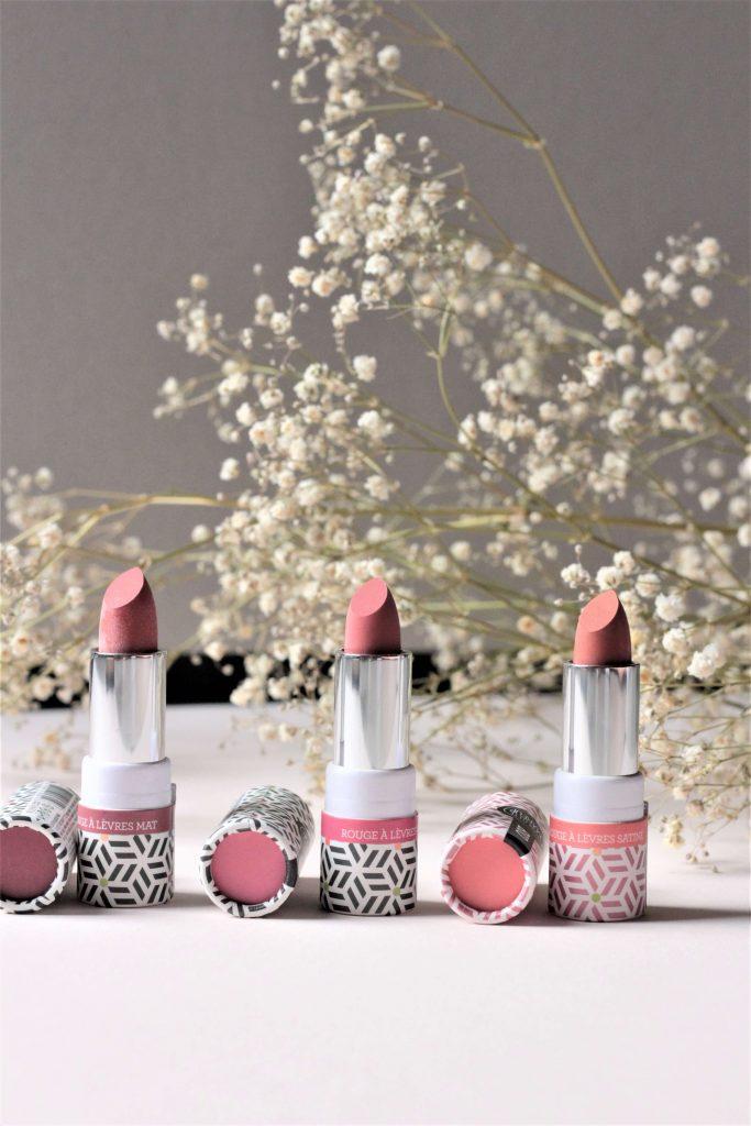 Mon avis sur les rouges à lèvres Charlotte makeup BIO - Aunatur-elle, blog beauté bio