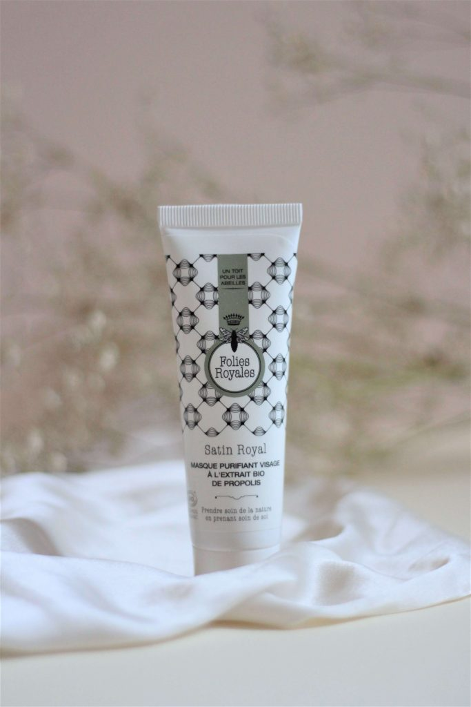 Masque purifiant visage, Folies Royales. Aunatur-elle, blog beauté naturelle