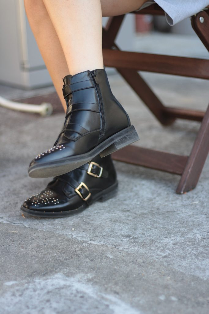 Bottines rock tendance 2019 - Camaieu