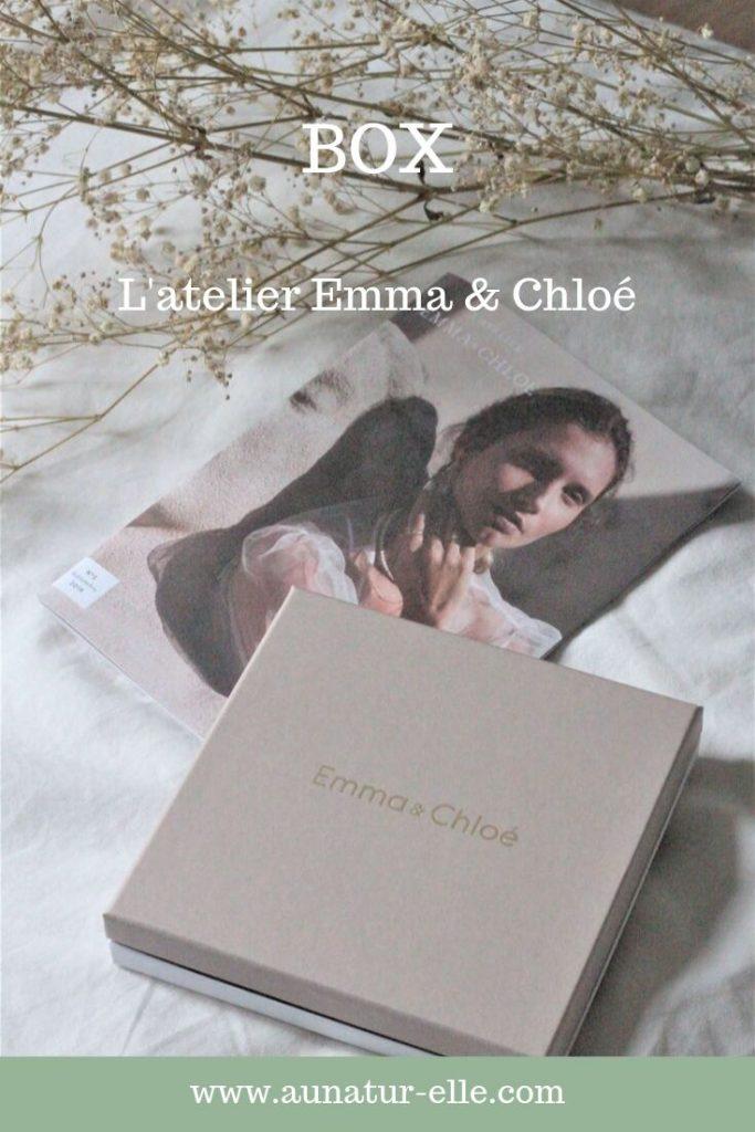 Mon avis sur la box bijoux l'atelier Emma et chloé. Aunatur-elle, #boxbijoux #bijouxcreateurs #bijoux