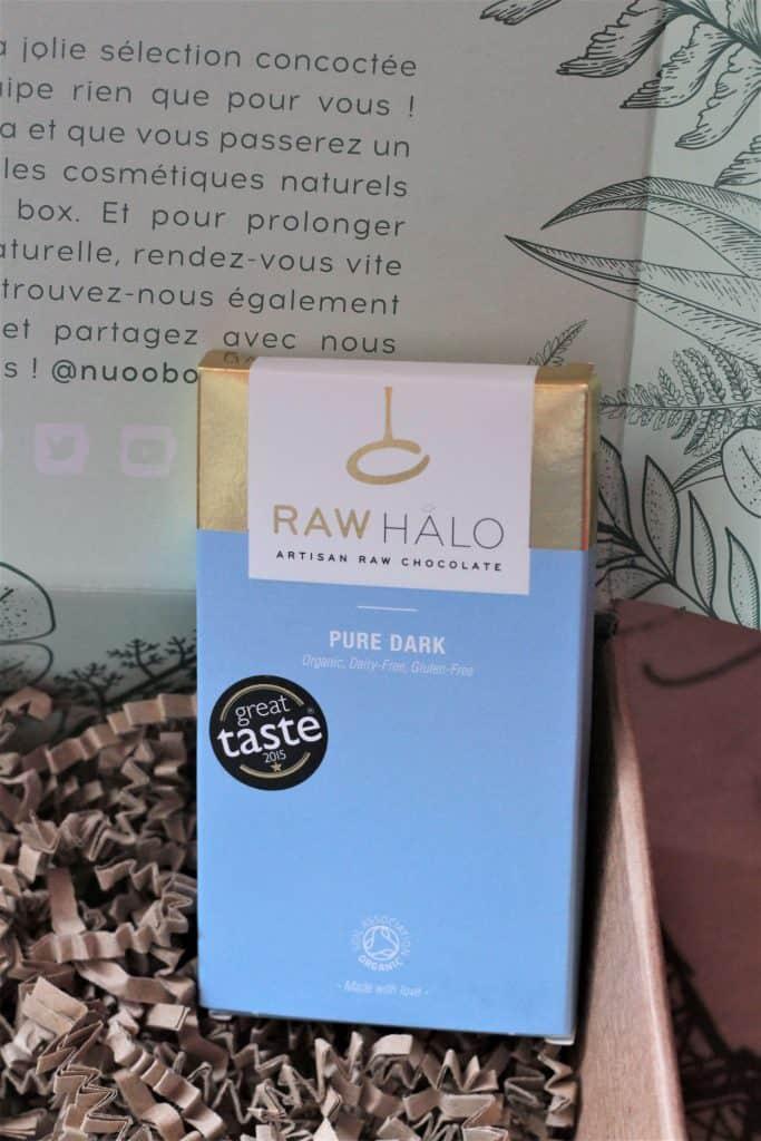 Chocolat raw halo pure dark