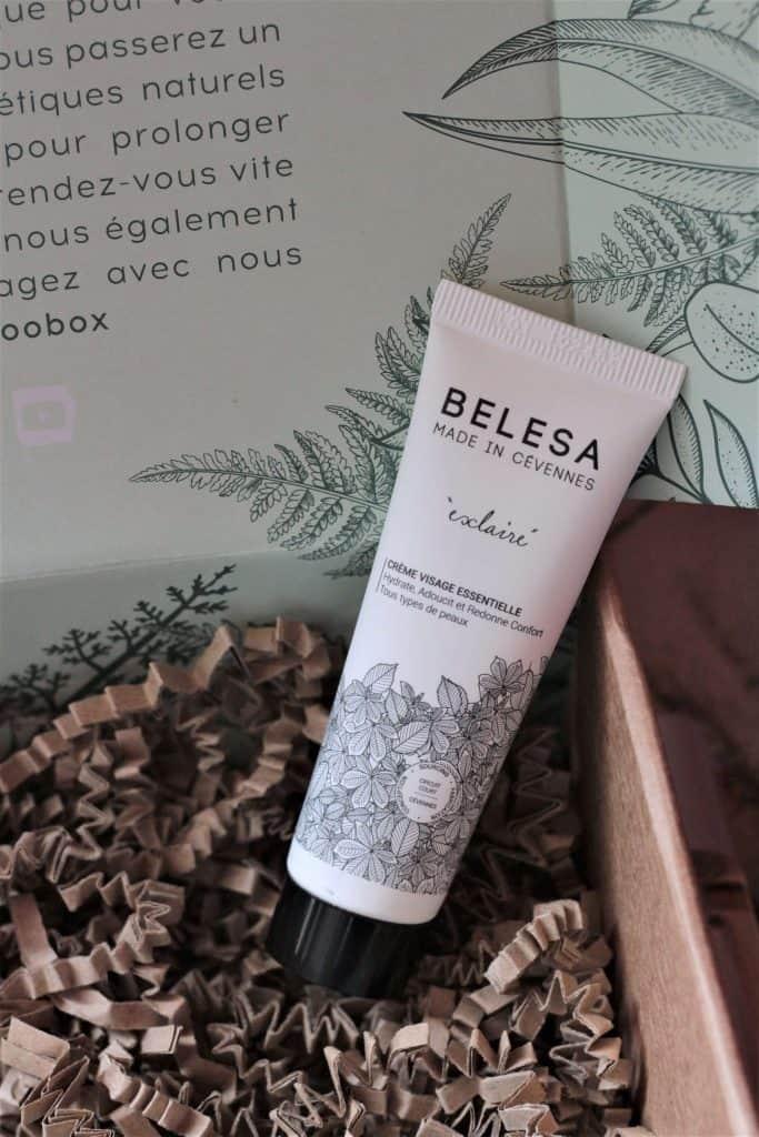 Crème visage essentielle Belesa