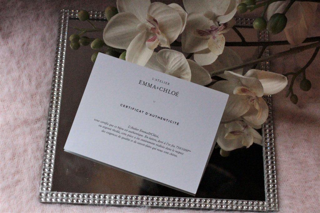 Box bijoux l'atelier emma et chloé