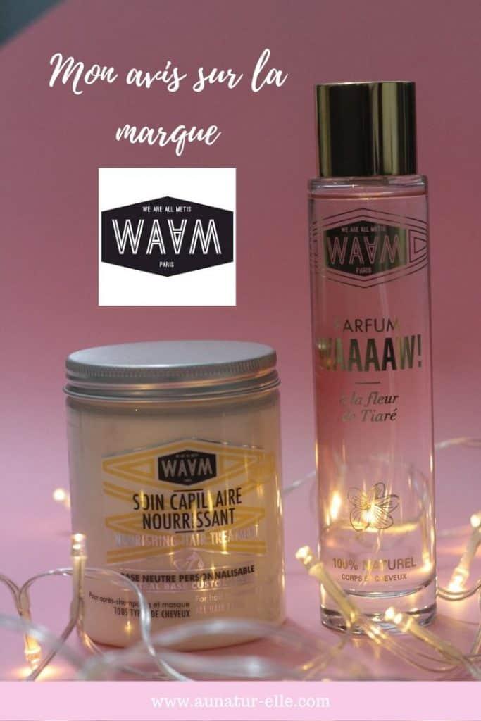 Mon avis sur la marque WAAM