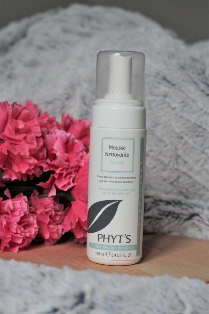 Mousse nettoyante pureté Phyt's pour peaux à imperfections