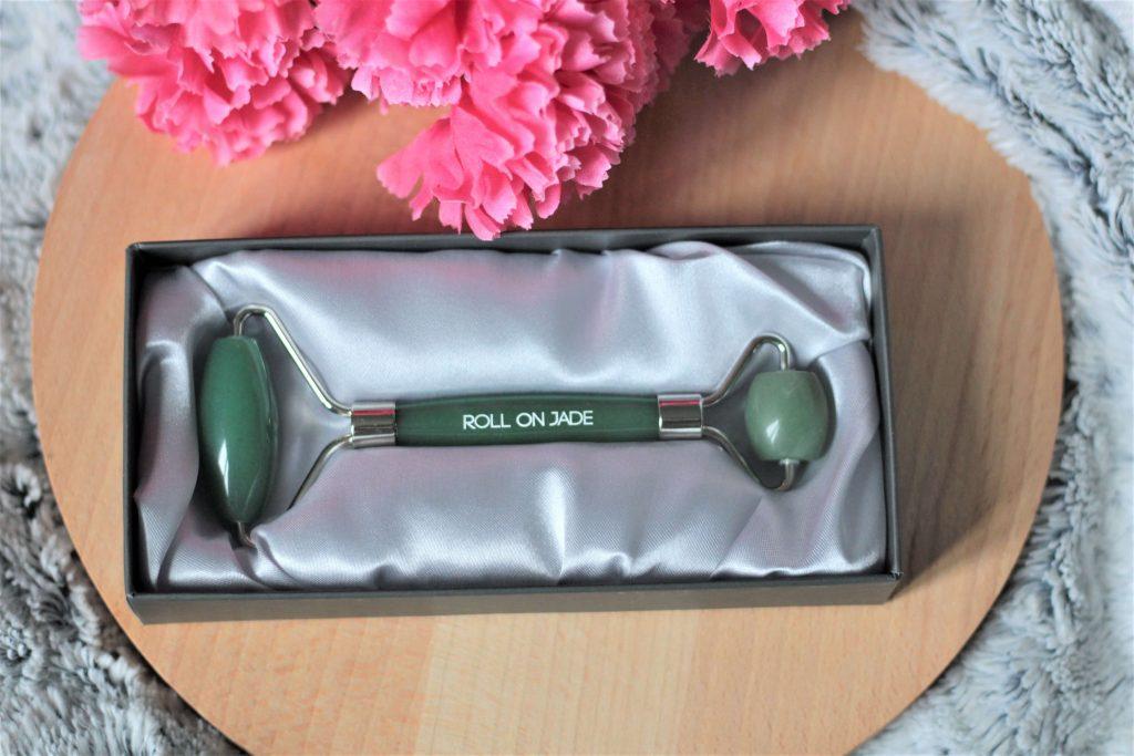 Rouleau de jade en aventurine verte pour les imperfections
