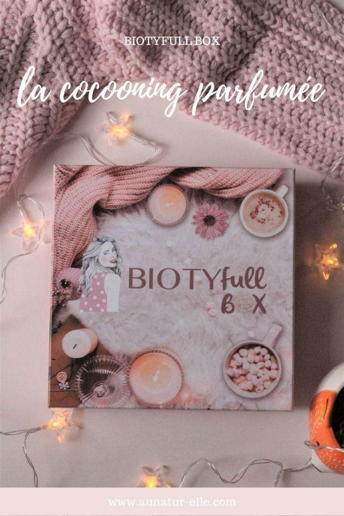 la cocooning parfumée box beauté naturelle