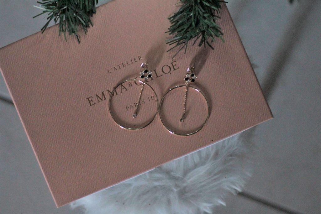 Boucles d'oreilles Eve collection Dualis Emma et Chloé