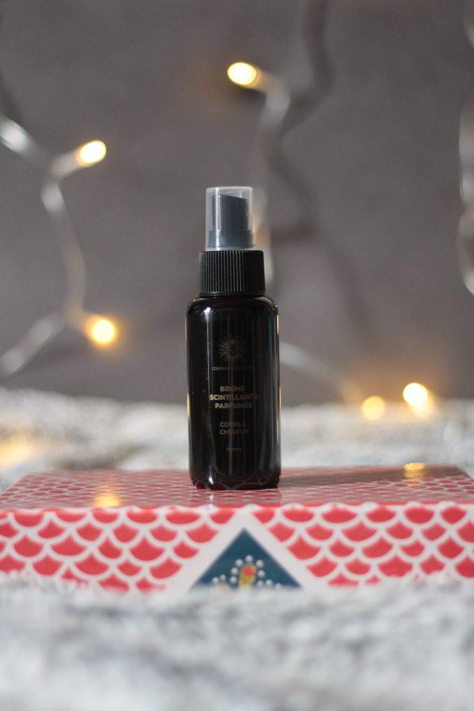 Brume scintillante parfumée au monoï Compagnie des Indes