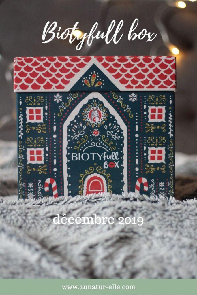 Mon avis sur la Biotyfull box raffinée et scintillante de décembre 2019