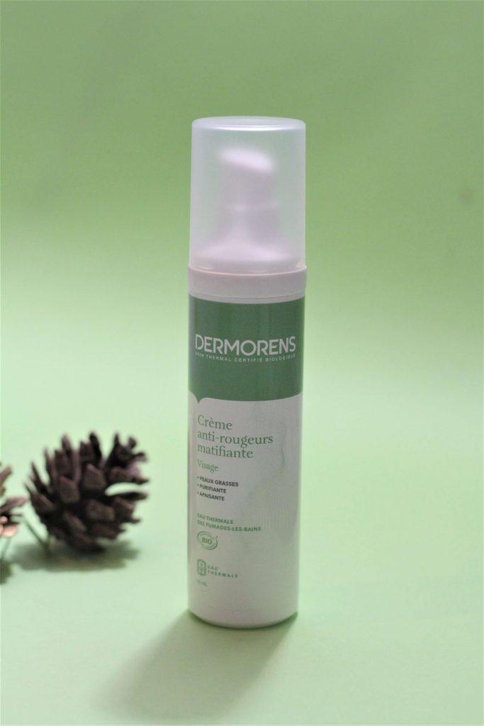 Crème anti rougeurs matifiante dermorens