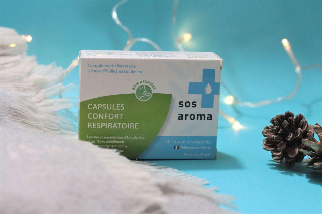 SOS aroma capsules confort respiratoire