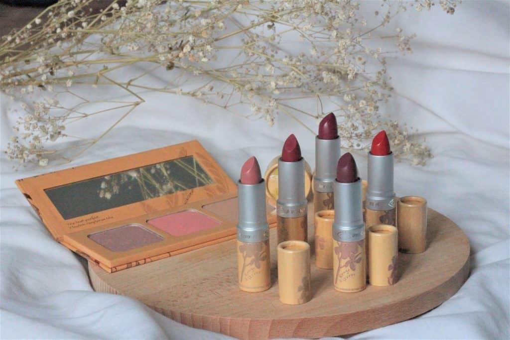 couleur caramel du maquillage naturel et bio