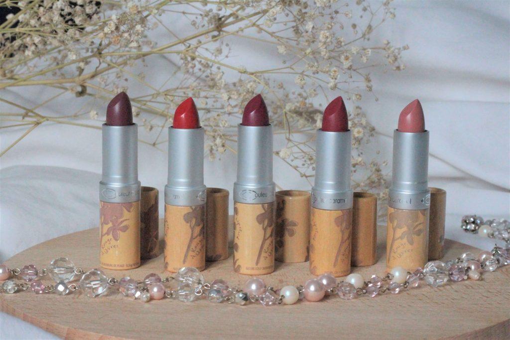 rouges à lèvres bio couleur caramel