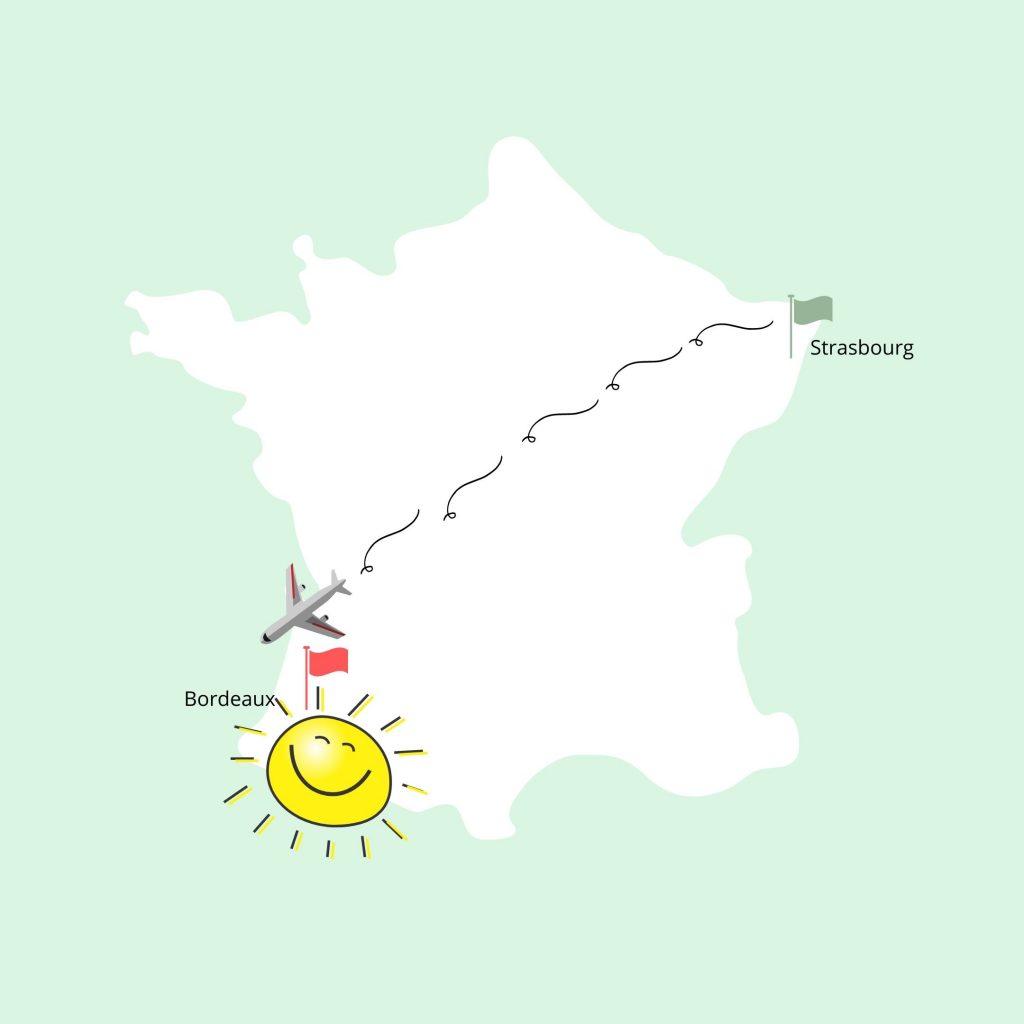 Strasbourg-Bordeaux