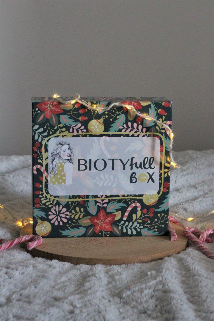 Biotyfull box routine précieuse de fêtes