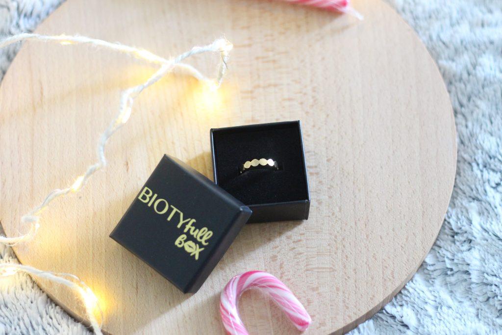 bague doré - biotyfull box
