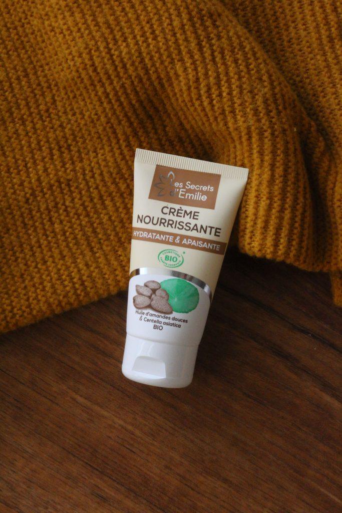 crème nourrissante visage - les secrets d'émilie