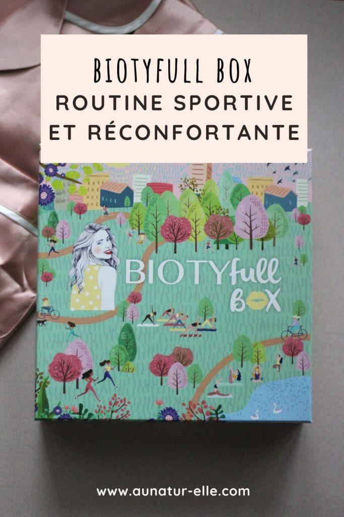 Biotyfull box routine sportive et réconfortante
